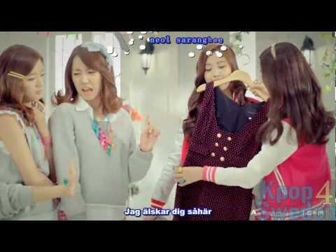 [HD] A Pink - My My (Swedish Subtitles & Karaoke)