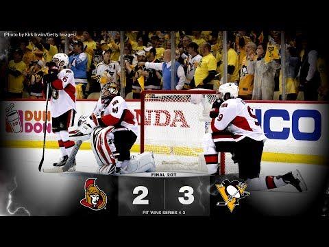 Game 7 - Sens vs. Penguins - Post-game Media