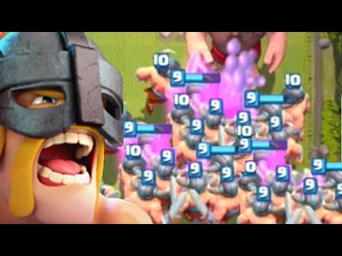 Thumbnail: 1.5 MILLION ELITE BARBARIANS | Clash Royale | Funny Moments Montage