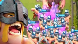 1.5 MILLION ELITE BARBARIANS | Clash Royale | Funny Moments Montage thumbnail