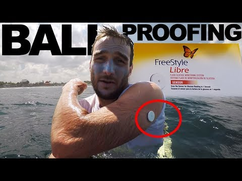 Bali Proofing a FreeStyle Libre Sensor