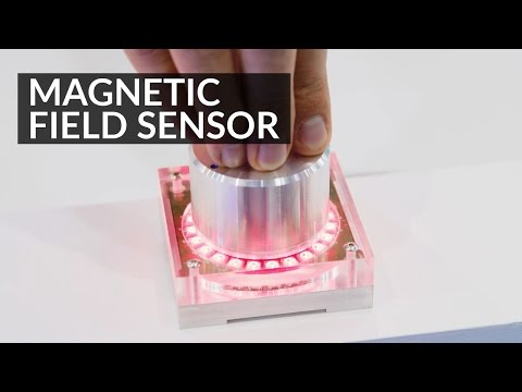 Magnetic Field Sensor - Magnetometer (MLX90393) - Product Demo #34