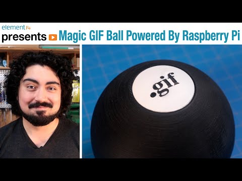 Magic GIF Ball Powered By Raspberry Pi