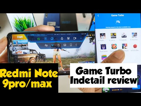 Redmi Note 9pro / Pro Max Game Turbo Indetail Review