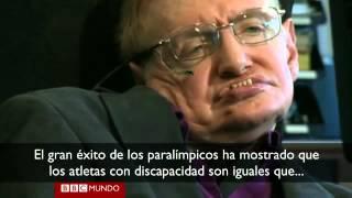 No se rindan, el mensaje de Stephen Hawking