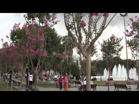 Istanbul, Turkey: Views around Sultan Ahmet Square - 1st August, 2012 (HD)