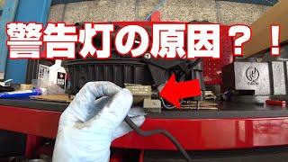 【ポルシェ】初期型パナメーラエンジン警告灯点灯!