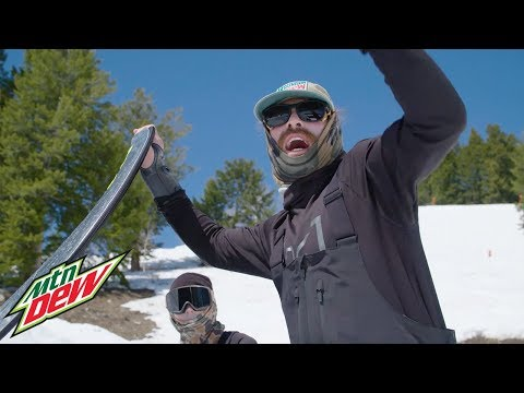 Danny and Red @ Jackson Hole | Mountain Dew