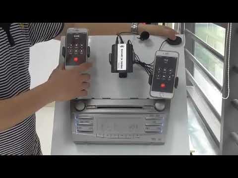 Bluetooth USB AUX car Adapter Interface BTI
