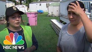 Hispanic Mother Fears Separation If She Evacuates To Hurricane Florence Shelter   NBC News