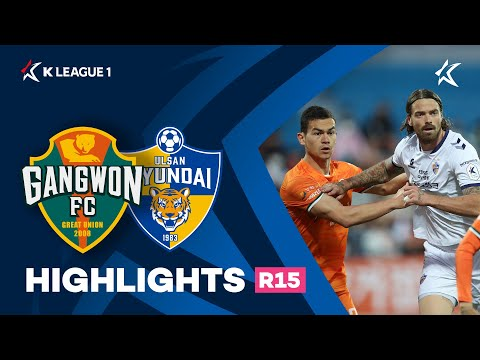 Gangwon Ulsan Hyundai Goals And Highlights