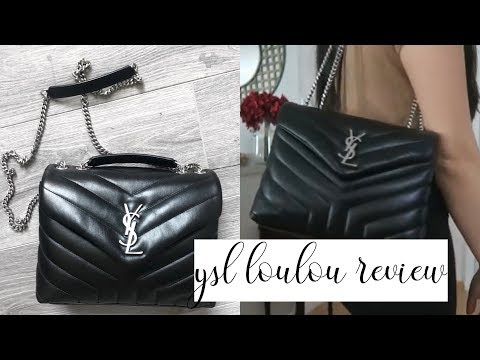 YSL SMALL LOULOU REVIEW + MOD SHOTS | Mimi Le