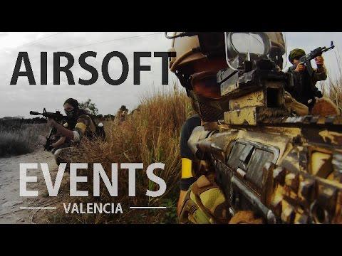 Airsoft Events Valencia - Cámara RIP, Lesión y partida basura | Haddock Airsoft España