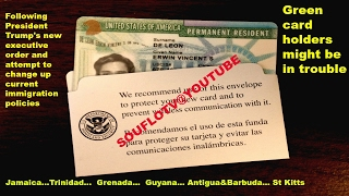 Jamaican (and others) Green Card holders might be in trouble