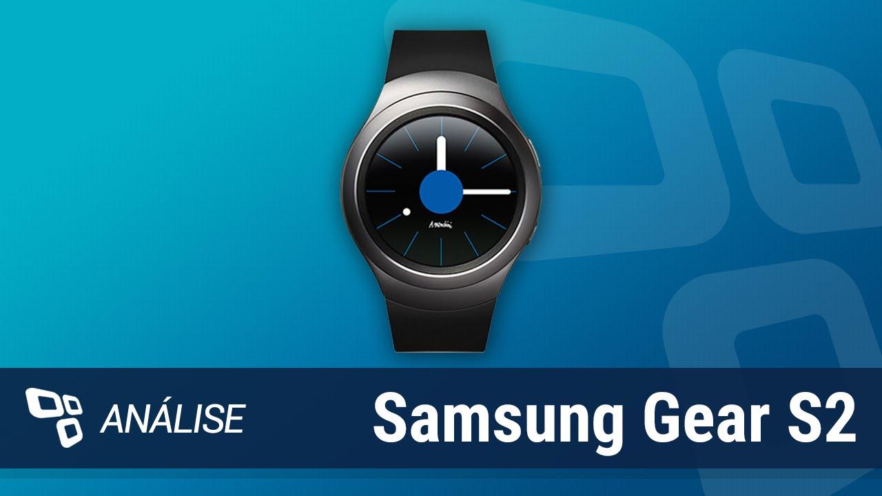 ebce2674850 Smartwatch Samsung Gear S2  Análise  - TecMundo - YouTube