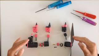 Assemblage moteur 4 cylindres en ligne imprimé 3d