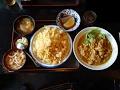 古都 エビピラフとチキンのカレー煮 (週替わりサービス品)