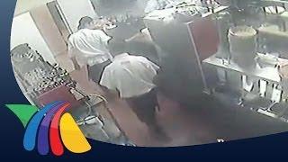 Violento asalto en restaurante de Cuernavaca