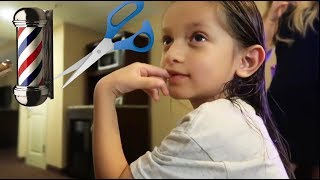 MY SON TALKS ABOUT CUTTING HIS HAIR!!