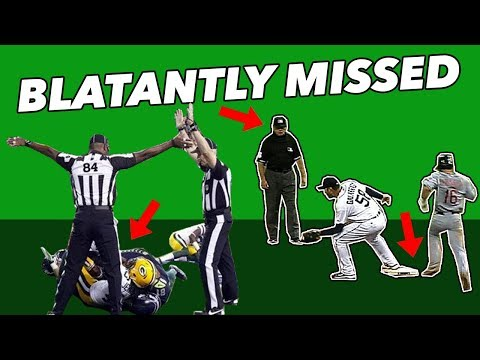 T-Bone - The 5 Most Blatantly Missed Calls In Sports