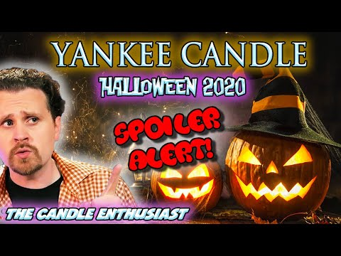 Yankee Candle Halloween Preview Party 2020 Yankee Candle HALLOWEEN 2020   SPOILER ALERT 🚨   All NEW Sneak