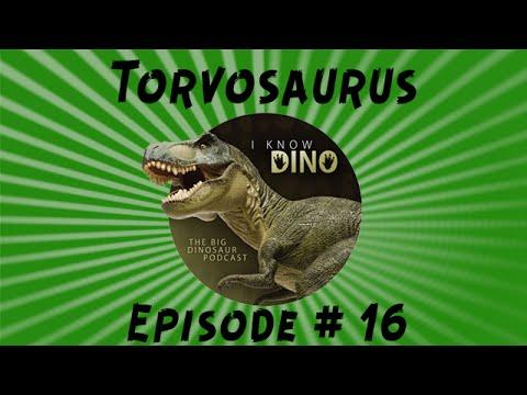 Torvosaurus: I Know Dino Podcast Episode 16
