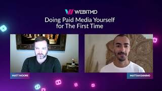 Doing Paid Media for the First Time | Paid Media Management Expertise | WEBITMD