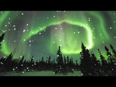 Beautiful Winter Music - Aurora Borealis