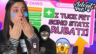 Un HACKER ha PROVATO a RUBARMI tutti i PET 😱 Roblox ADOPT ME ITA By FrancyDreams