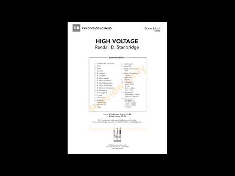 High Voltage - Randall D. Standridge