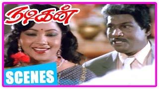 Nadigan Tamil Movie | Scenes | Manorama agrees for Sathyaraj's and Kushboo's marriage | Goundamani