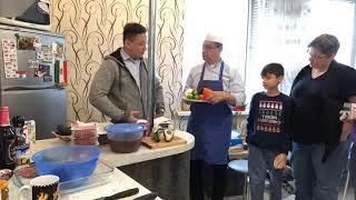 Kitchen Magic Minsk 1/19/2019 учимся готовить на английском языке с преподавателями