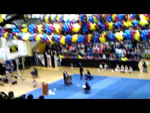 Pep rally from rider high school