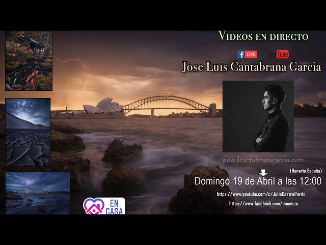 Directo: Hablamos con el fotografo Jose Luis Cantabrana