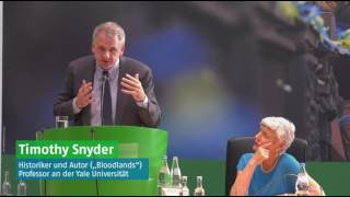 Timothy Snyder on Germany's Historical Responsibility towards Ukraine + Discussion
