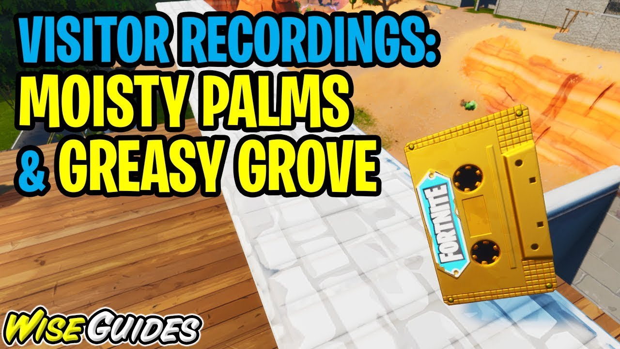 Collect The Visitor Recording In Moisty Palms And Greasy Grove Location Guide Out Of Time