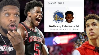 RANKED #1 OVER Lamelo! Anthony Edwards NBA Draft Preview!