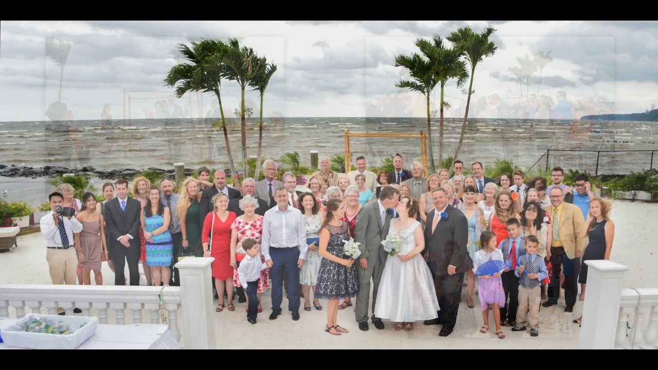 Chesapeake Beach Resort And Spa Wedding