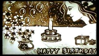 Happy Birthday Sand Art (Beautiful) Song