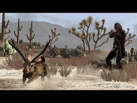 Red Dead Redemption: Expert Hunter Outfit, Part 4. Kill The Legendary Jackalope