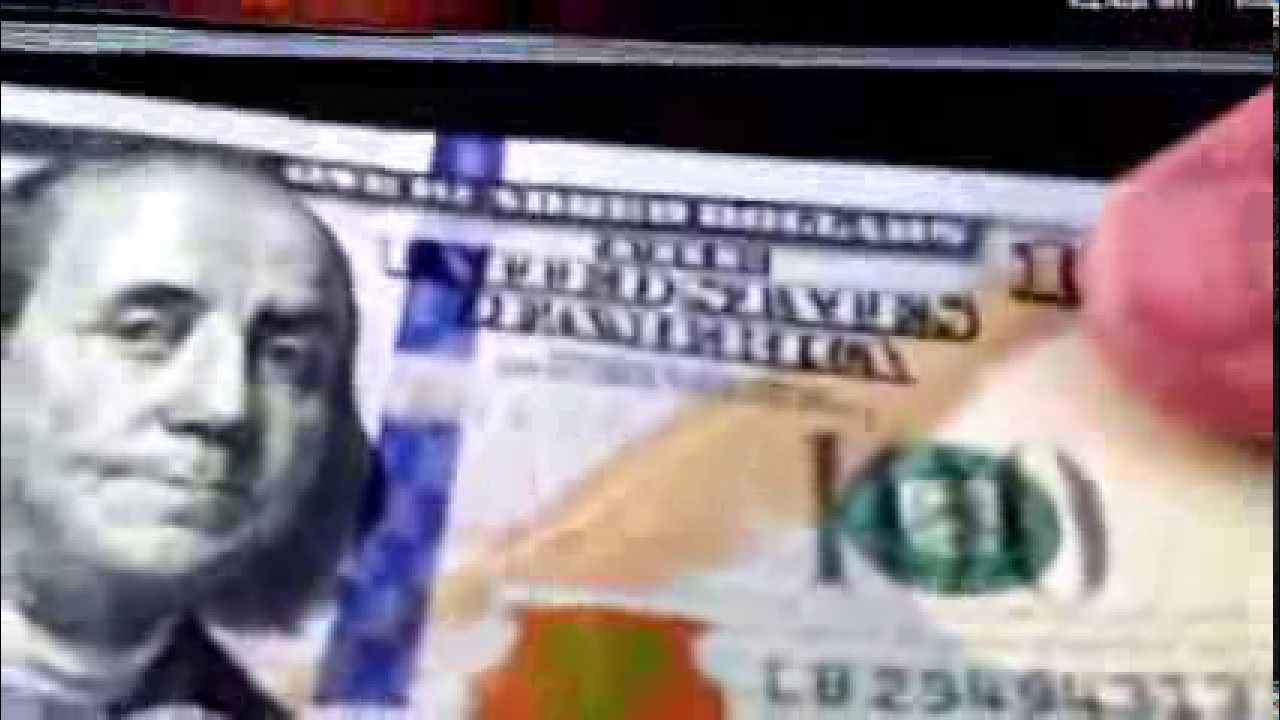 Copy of New 100 dollar bill review 2013 2014 US currency