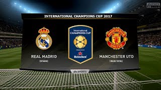 Video REAL MADRID VS MANCHESTER UTD - INTERNATIONAL CHAMPIONS CUP 23/07/2017 |FIFA 17 Predicts - Pirelli7 download MP3, 3GP, MP4, WEBM, AVI, FLV Juni 2018