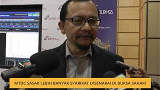 MTDC sasar lebih banyak syarikat disenarai di Bursa Saham