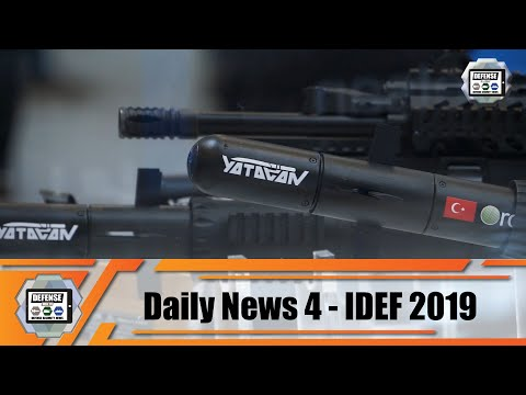 IDEF 2019 Top 10 Innovations Of Defense And Military Products Istanbul Turkey