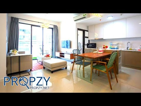 Bán căn hộ tầng trung Estella Height quận 2, DT 80m2 thiết kế 2 phòng ngủ | Propzy