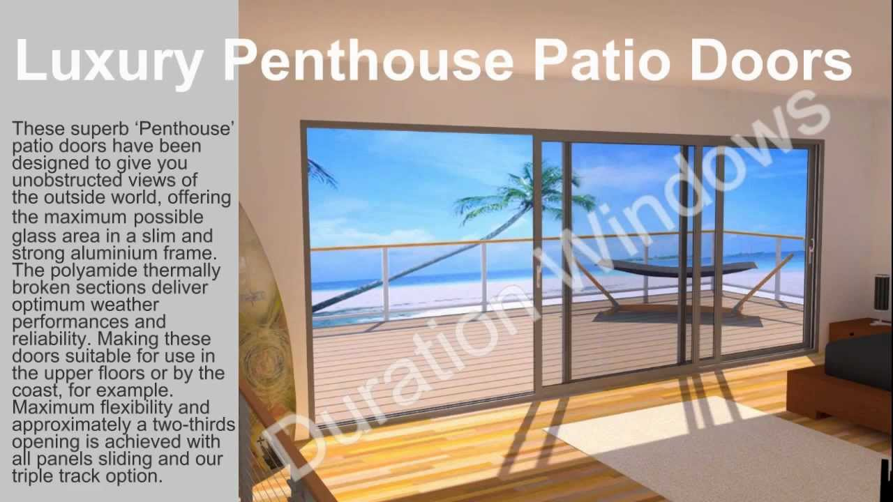 Luxury Penthouse Patio Doors   YouTube