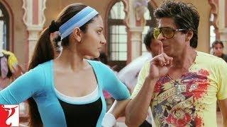 Raj Taani Dance Practice - Comedy Scene - Rab Ne Bana Di Jodi