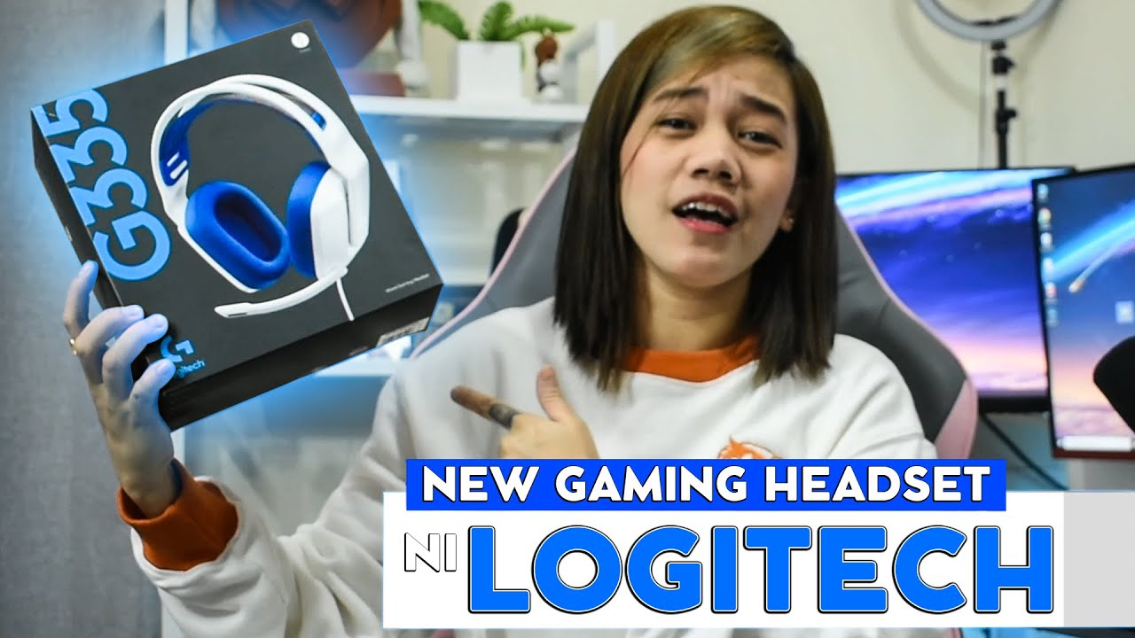 NEW GAMING HEADSET NI LOGITECH - G335!