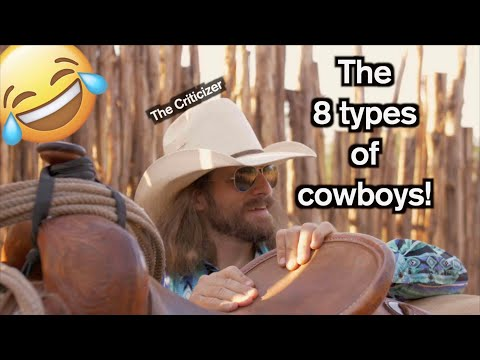 8 Different Types Cowboys