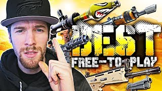 BEST FREE-TO-PLAY GAME! (Fortnite: Battle Royale)